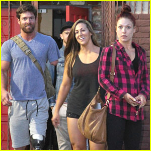 Sharna Burgess Promises 'Amazing' Freestyle For Noah Galloway's Final DWTS Dance