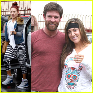 Charlie White Gives Former DWTS Partner Sharna Burgess & Noah Galloway Shout Out After Making It To Finals