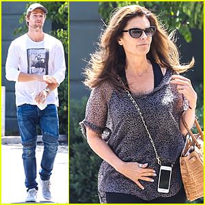 Patrick Schwarzenegger & Maria Shriver Have Mom-Son Bonding Time!