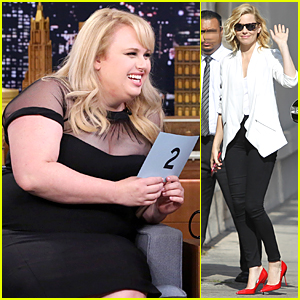 Rebel Wilson Cracks Us Up During Tonight Show's Whisper Challenge - Watch Now!