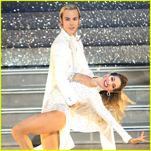 Riker Lynch & Allison Holker Stop by 'Kelly & Michael' Before 'DWTS' Finals!