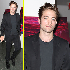 Robert Pattinson Is Handsome Stud at 'Heaven Knows What' Premiere