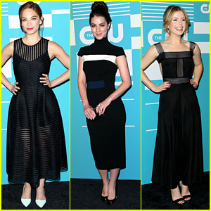 Kristin Kreuk Hits CW Upfronts Ahead of 'Beauty And The Beast' Season Three Premiere