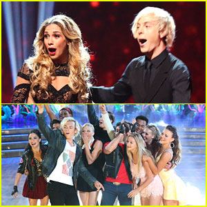 Ross Lynch, Jordan Fisher & Grace Phipps Just 'Gotta Be Me' At 'Dancing With The Stars' - See Their Performance Pics!