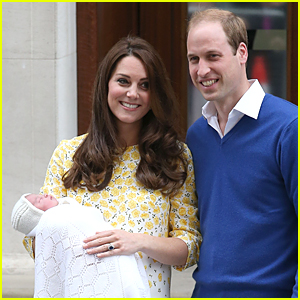 Royal Baby Girl's First Photos with Kate Middleton & Prince William!