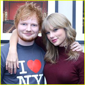 Taylor Swift & Ed Sheeran's Texts Contain Lots of Rhymes!
