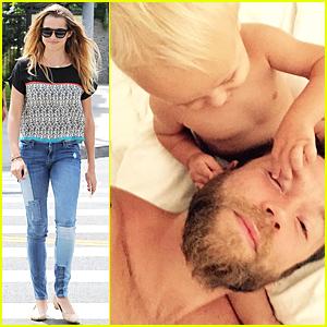 Teresa Palmer Posts Sweet Pic of Mark Webber & Son Bodhi
