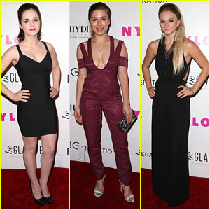 Vanessa Marano & Jennette McCurdy Kick Off Nylon's Young Hollywood Party