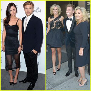 William Moseley & Savannah Chrisley Head To NBC Universal Upfronts in NYC