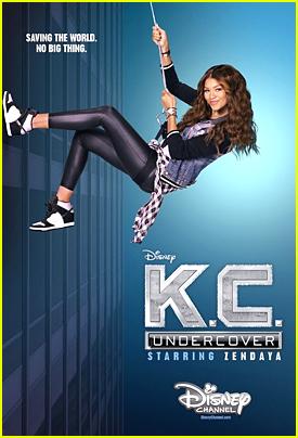 Zendaya's 'K.C. Undercover' Renewed For Season Two!