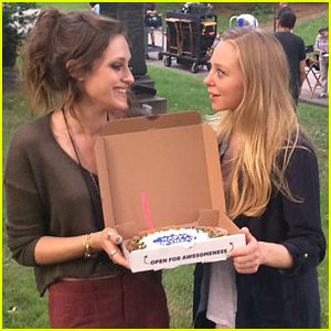 Carly Chaikin Takes JJJ Behind-the-Scenes of 'Mr. Robot' For Her JJJ Takeover