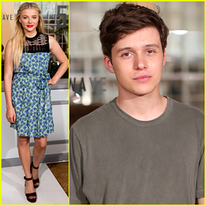 Chloe Moretz & Nick Robinson Bring 'The 5th Wave' To Sony Pictures' Summer Preview
