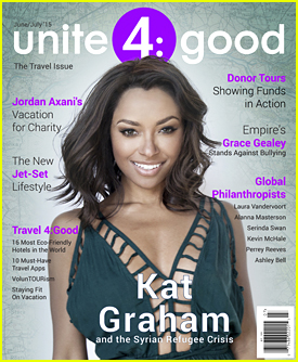 Kat Graham Opens Up About What 'Refugee' Really Means In 'Unite 4 Good' June/July 2015 Issue