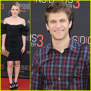Keegan Allen Calls Stefanie Scott 'So Talented' After 'Insidious' Premiere
