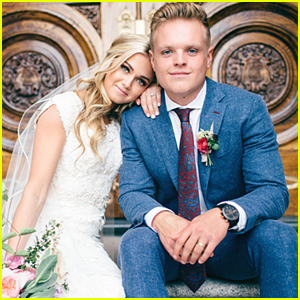 Dancing With The Stars' Lindsay Arnold Married High School Sweetheart Sam Cusick & It Was The Most Gorgeous Wedding Ever - See Pics!