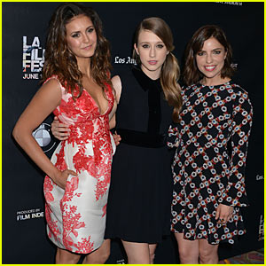 Nina Dobrev & Taissa Farmiga Keep It Cute at 'The Final Girls' Premiere at LA Film Festival