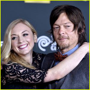 Emily Kinney Is NOT Dating 'Walking Dead' Co-Star Norman Reedus!