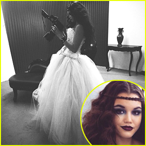 Paris Berelc Shares Stunning BTS Pics From New Photo Shoot