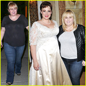 Rebel Wilson Catches a Saturday Night Broadway Show!