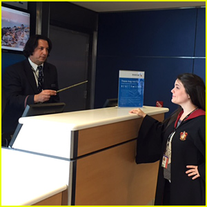 Severus Snape Is Living In NYC & Working for American Airlines!