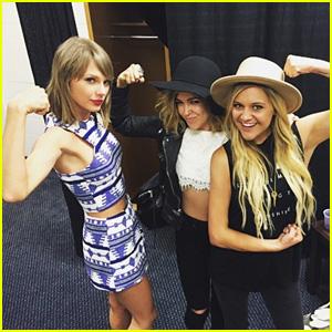 Taylor Swift Hangs Out With Rachel Platten & Kelsea Ballerini - Watch Them Jam Out!