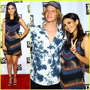 Victoria Justice & Cody Simpson Celebrate DoSomething.Org At Spring Dinner in NYC