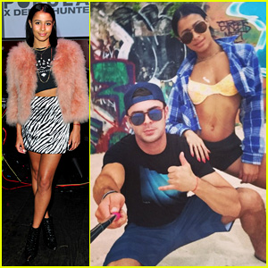 Zac Efron & Sami Miro Have That Selfie Stick Swag