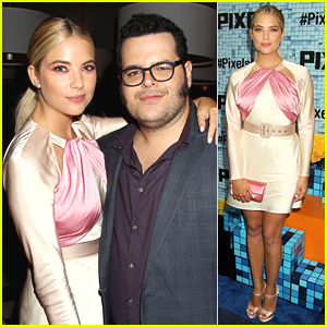 Ashley Benson Looked Super Pretty For 'Pixels' Premiere in NYC