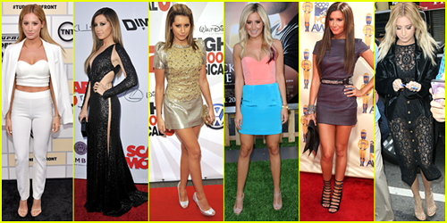 Ashley Tisdale Turns 30 Today - Celebrate With 30 Of Her Best Red Carpet & Street Style Looks!