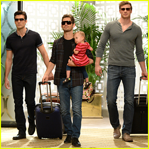 Ben & Danny Throw Brad A Bachelor Party In Vegas (Exclusive Pics)!