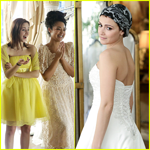 April Goes In Search Of The Perfect Wedding Dress on 'Chasing Life' Tonight