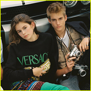 Young Model Kaia Gerber Is Walking In Her Mom Cindy Crawford's Footsteps!