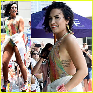 Demi Lovato Slips & Falls at the 'Cool for the Summer' Pool Party (Video)