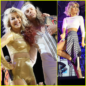Derek & Julianne Hough Go Head-to-Head in 'Lip Sync Battle' Live in Central Park!