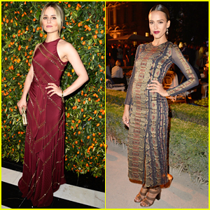 Dianna Agron Glams Up for Tory Burch's Paris Flagship Store Opening After Party!