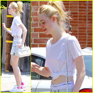 Elle Fanning Boasts Creatures Of The Wind Fashion Brand