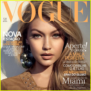 Gigi Hadid Is Already the Cover Girl for Her Third Issue of Vogue