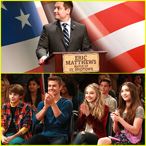 Eric Matthews Runs For The Senate On 'Girl Meets World'!