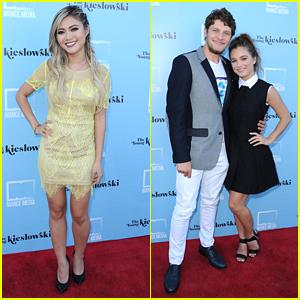 Brett Dier Supports Girlfriend Haley Lu Richardson At 'Young Kieslowski' Premiere