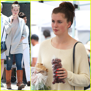 Ireland Baldwin Is Stoked for Shark Week!