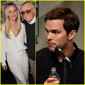 Jennifer Lawrence & Nicholas Hoult Join Star-Studded 'X-Men' Cast at Comic-Con!