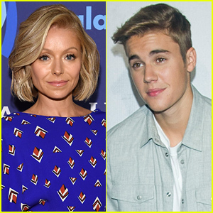 Justin Bieber's Crush Kelly Ripa Responds to His Instagram Post!