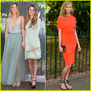 Suki & Immy Waterhouse Almost Match For Serpentine Gallery Summer Party