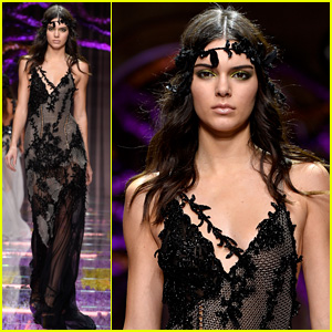 Kendall Jenner is a Gorgeous 'Atelier Versace' Girl in Paris!