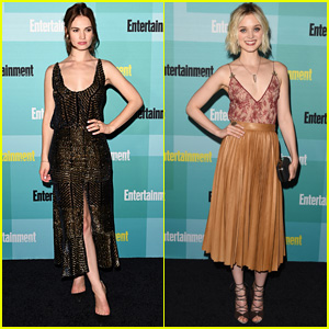 Lily James & Bella Heathcote Are 'Pride & Prejudice' Beauties at EW's Comic-Con Bash