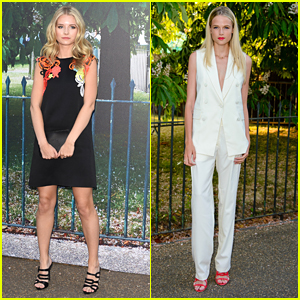 Lottie Moss & Gabriella Wilde Celebrate Summer At the Serpentine Galleries