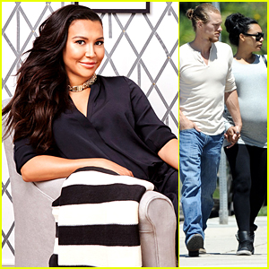 Naya Rivera Shows Off Future Baby's Nursery
