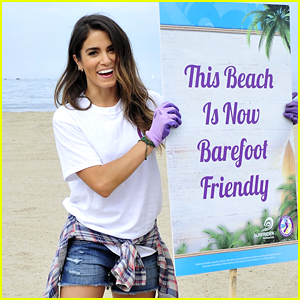 Nikki Reed Makes Beach In Santa Monica 'Barefoot Friendly'