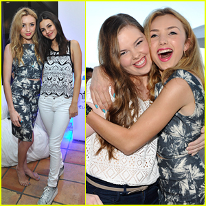 'Bunk'D' Star Peyton List Hosts Private Party With Miranda May & Victoria Justice!