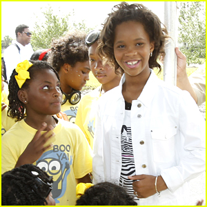 Quvenzhane Wallis Meets Fans At Essence Festival Day of Service 2015